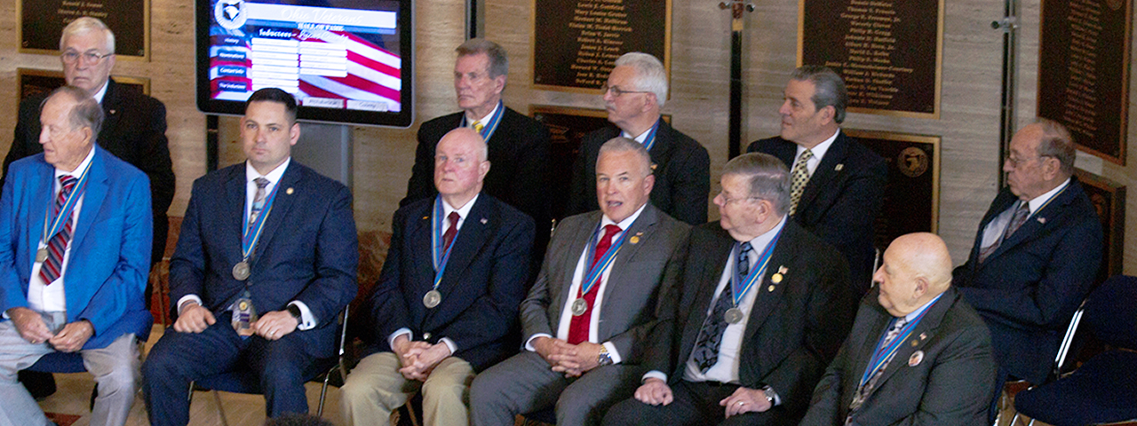Ohio Veterans Hall of Fame Enshrinement Ceremony